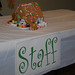 Staff's gingerbread house