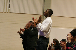 Audience applauding at the Martin Luther King, Jr. Celebration | by California State University Channel Islands
