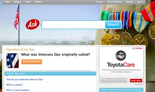 Ask Veteran's Day 2010 | by rustybrick