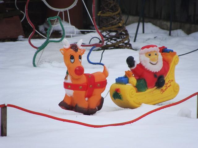 Rodolfo y Papa Noel