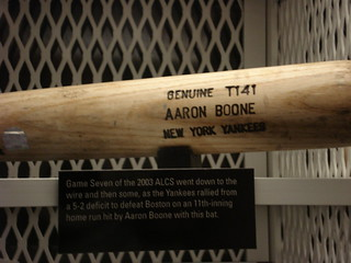 Aaron Boone's 2003 ALCS Game 7 bat | by Mike A. (RAB)