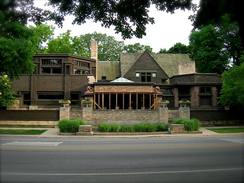 Frank Lloyd Wright Home and Studio | by DoNotLick