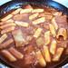 Irene's ddukbokkie (spicy rice cake)