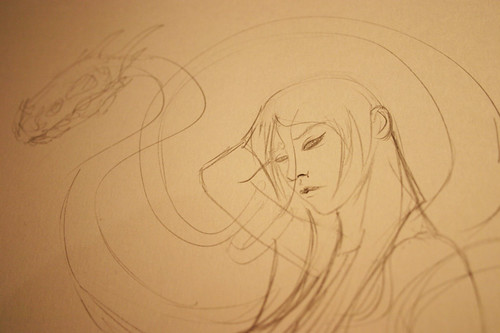 Beginnings of a new picture | by Ben Templesmith