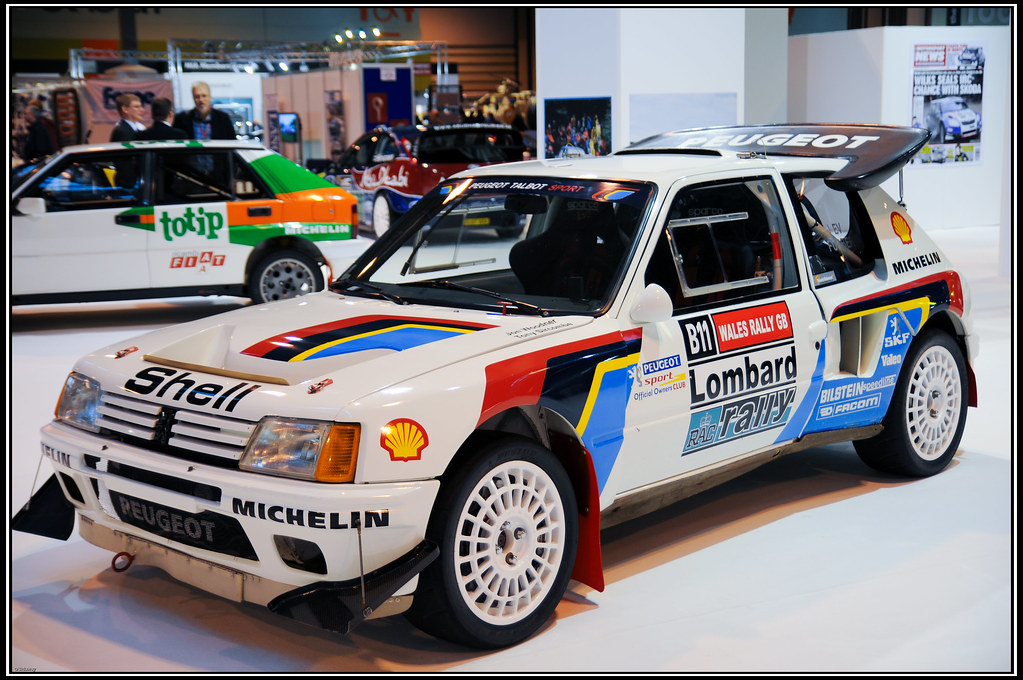 peugeot 205 rally car at autosport 2010 oa84 flickr. Black Bedroom Furniture Sets. Home Design Ideas