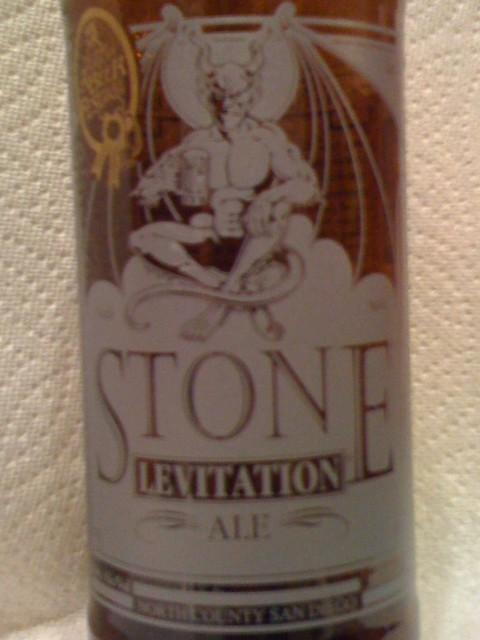 Stone Levitation Ale : Stone levitation ale beeradvocate beer profile