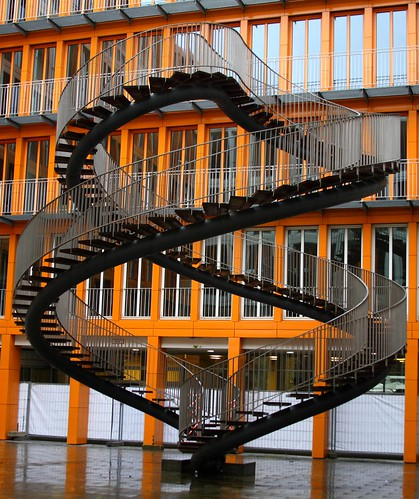 Crazy staircase at the KPMG Building in Munich | by Alaskan Dude