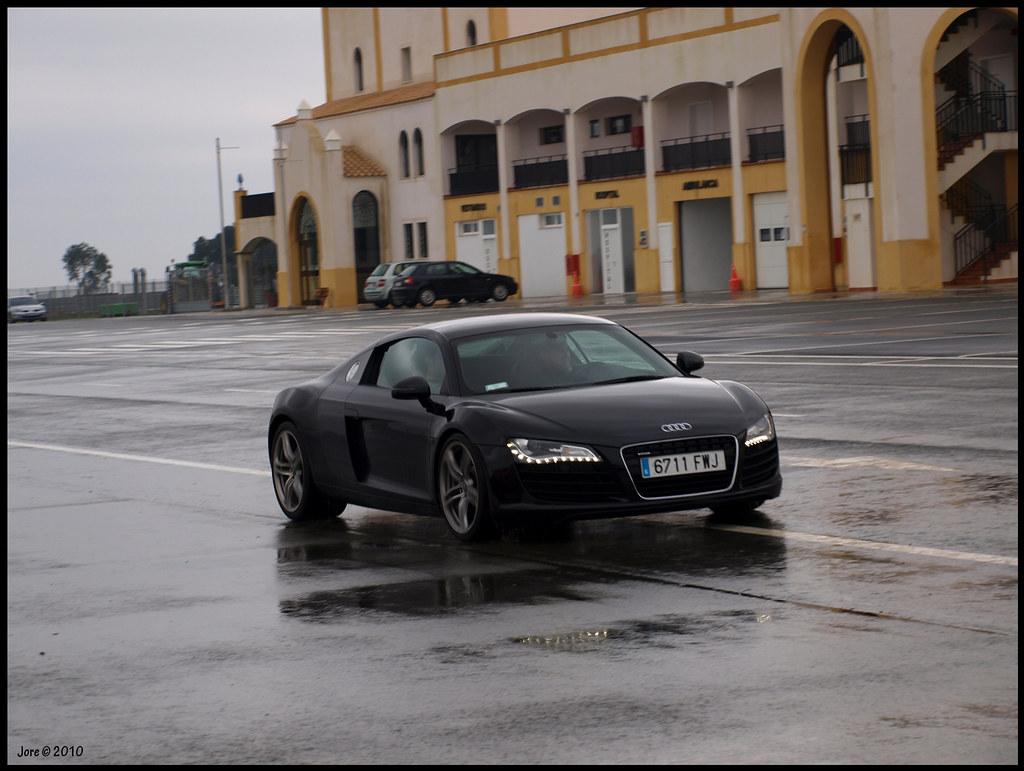 Circuito Monteblanco : Audi r8 circuito monteblanco huelva 23 enero 2010 jorge