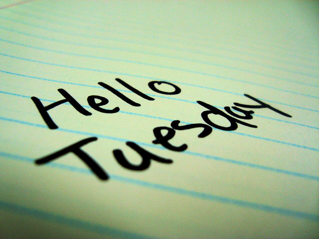 Image result for hello tuesday