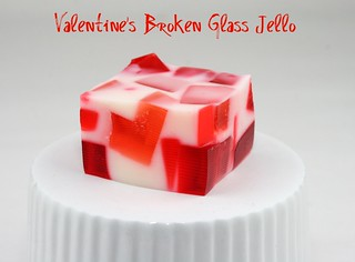 Valentine's Broken Glass Jell-O | by Food Librarian