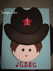 The cowboy cake | by Sarniques Cakes