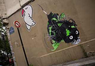 LUDO in Paris | by urbanartcore.eu