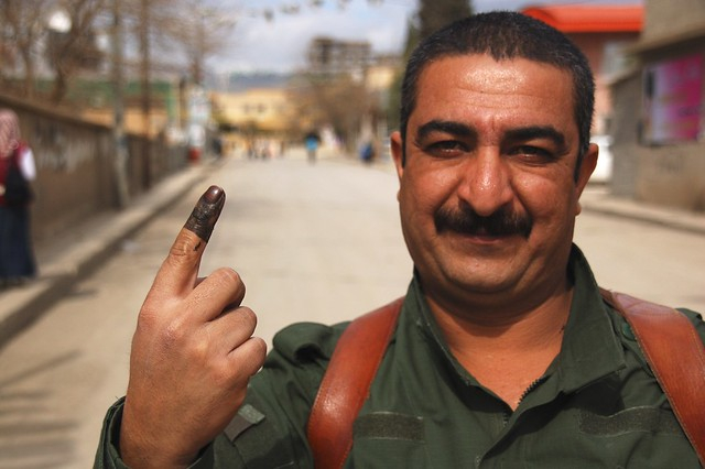 Peshmerga guard that has voted chris de bruyn flickr - De breuyn mobel ...