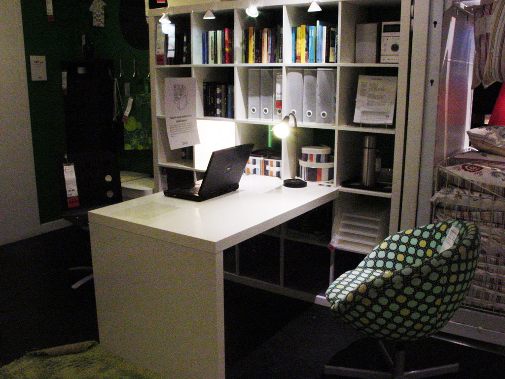... Ikea Expedit Desk And Shelves | By Wig3000