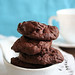 Chocolate Soufflé Cookies (Blue)