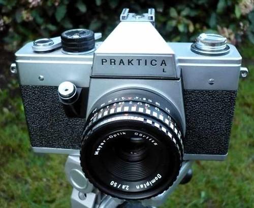 Pentacon praktica l made in ddr gdr spiegelreflexkamera mit