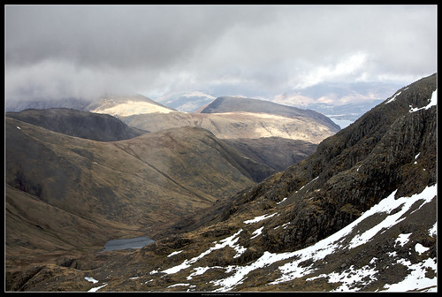 View from Scafell Pike Summit