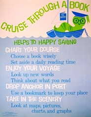 RETRO POSTER - Cruise Through a Book | by Enokson