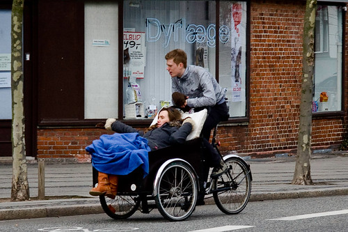 What a Ride - Copenhagen Cargo Bike | by Mikael Colville-Andersen