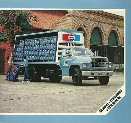 1982 Ford Soft Drink Delivery Truck Pepsi Truck From Argen Flickr