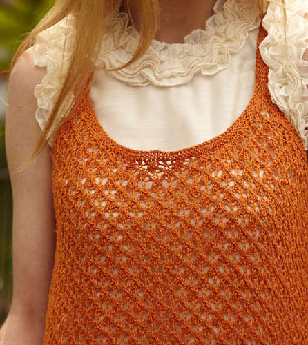 Mesh layering tank | by Veronik A.