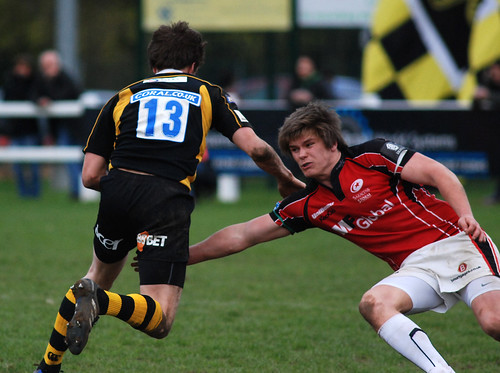 Owen Farrell tackles Will East | by davidhowlett
