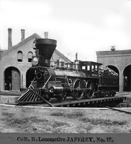 Cheshire Railroad Locomotive Jaffrey No 17 Title