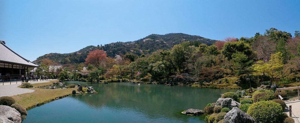 Tenryuji Pond