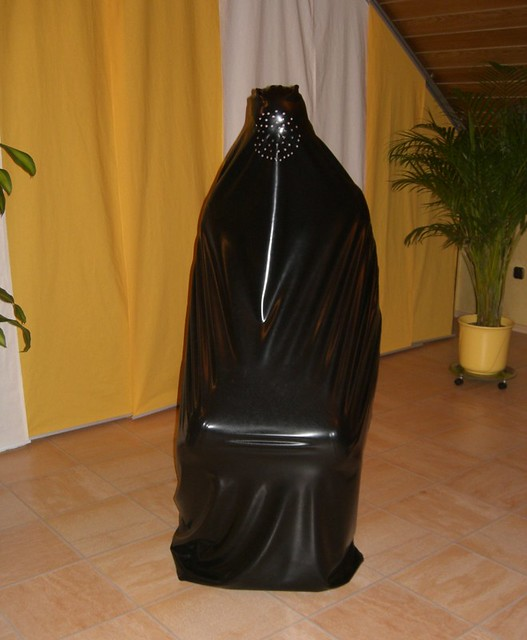 cockold latex burka