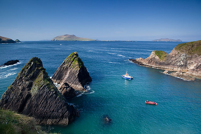 The Dunquin Harbour Dingle Ireland Another View Taken