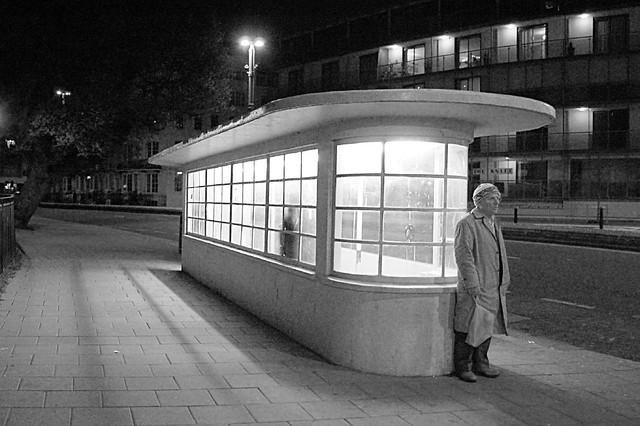 art deco bus shelter