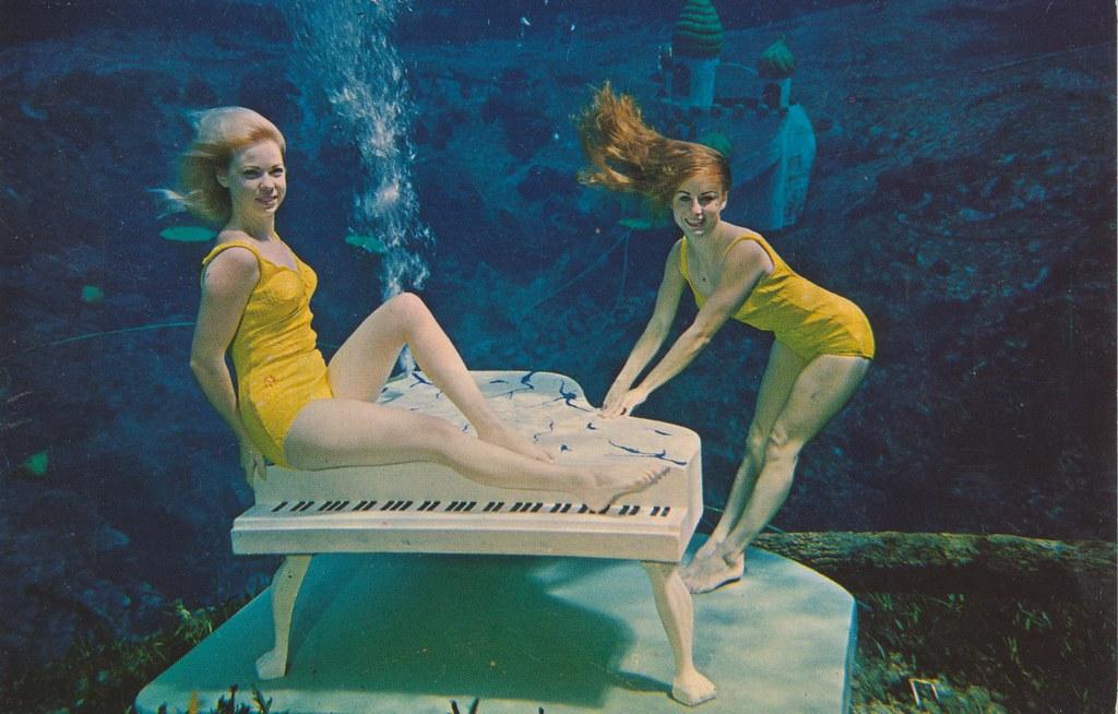 Two Lovely Mermaids