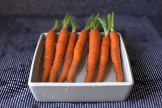 soaking the carrots | by smitten kitchen