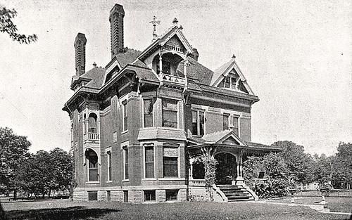 Finlay Ross Mansion Wichita Ks Photo C 1887 Of The Fin Flickr