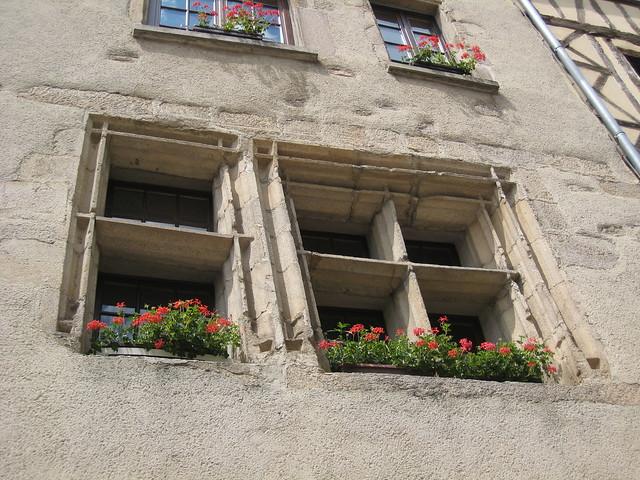 limoges fen tres fleuries dans le quartier de la cath dr flickr photo sharing