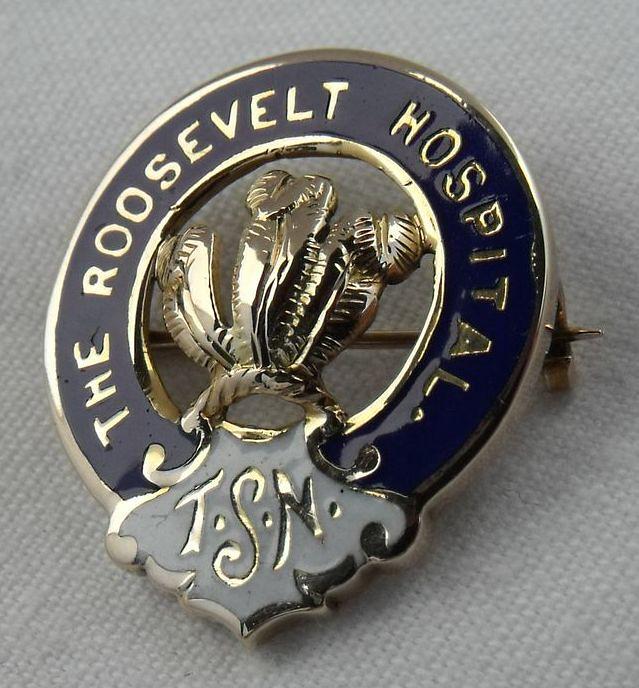 roosevelt hospital training school for nurses graduation p