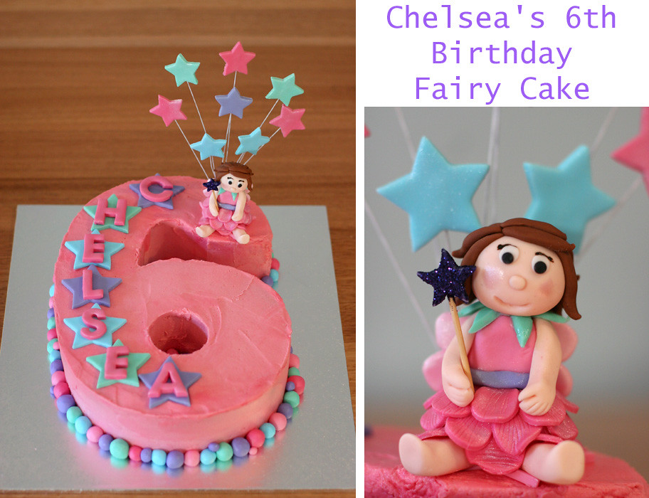 Number 6 Fairy Cake Kat Moss Flickr