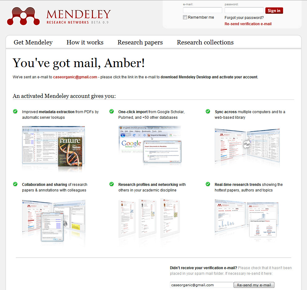 ... Mendeley - Research Networks - Free Desktop and Web software for research - by caseorganic