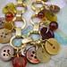 Recycle Antique Vintage Button Bracelet