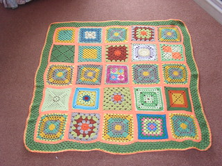 Time to play the 'SIBOL' Board Game Ladies ! Please 'add note to your Square! 'Orange Grove' - (Sun themed Blanket No. 4 SIBOL 12) - Named by Jenfur43! Thank you! | by MRS TWINS/SIBOL 'Sunshine International Blankets