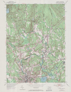 Ashaway Quadrangle 1970 - USGS Topographic Map 1:24,000 | by uconnlibrariesmagic