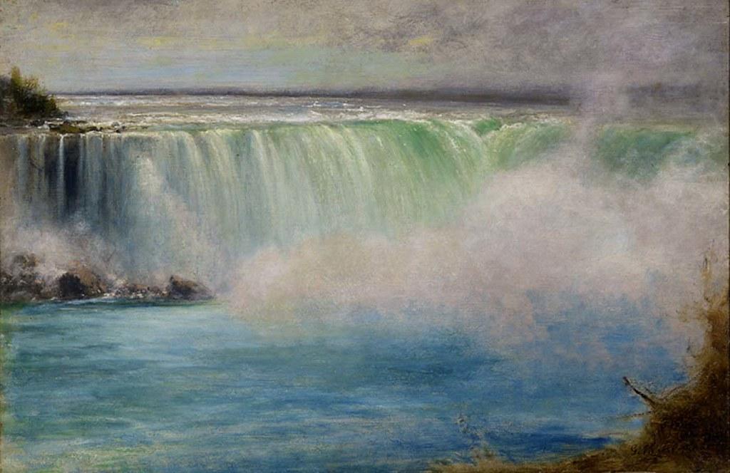 Niagara Falls Niagara Falls 1885 George Inness Born