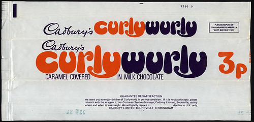 Uk Cadbury S Curlywurly Curly Wurly 3p Chocolate Candy