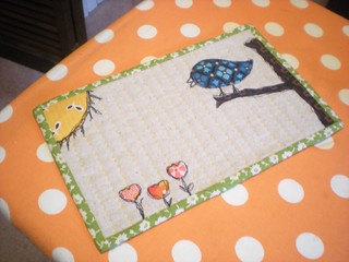 Sketchy Flea Market Fancy Bird | by Erin @ Why Not Sew? Quilts