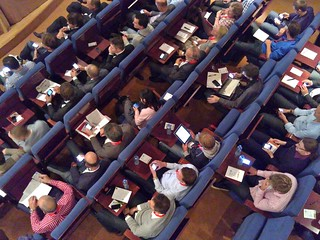 Conference Audience, Anno 2010 | by Adriaan Bloem