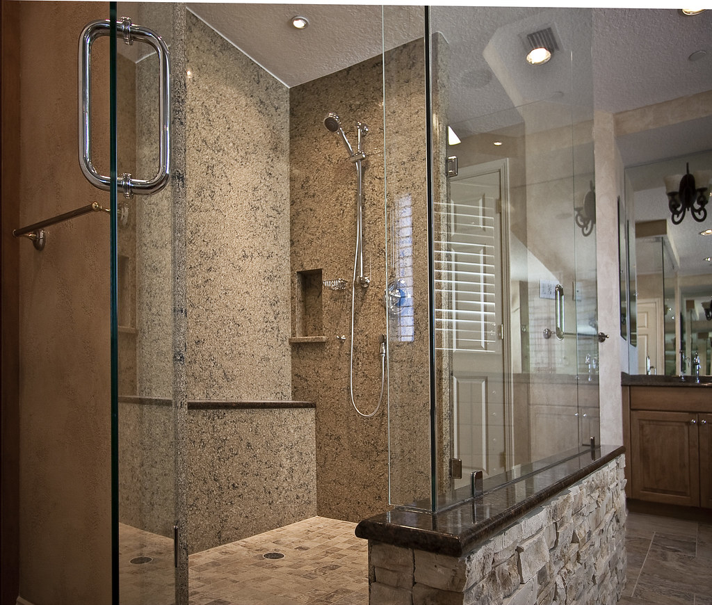 Cambria Shower Walls For This High End Remodel In The