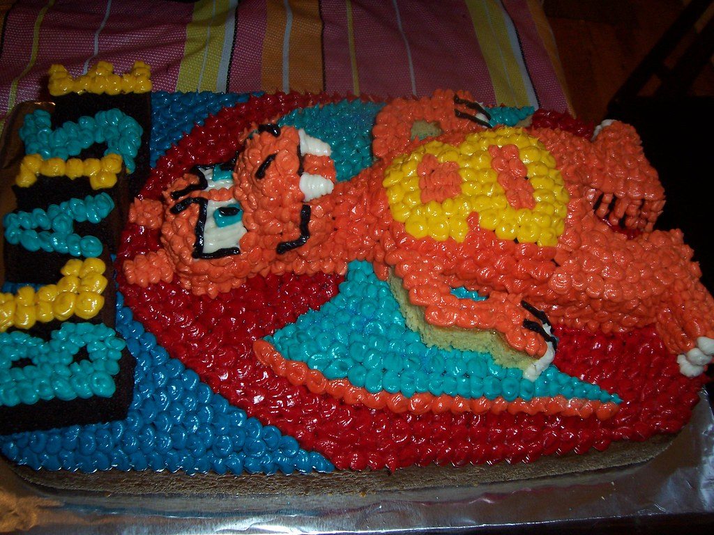 Charizard Cake By Me Yes Occasionally I Make Cakes