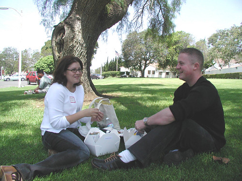 Students Eating Lunch | by California State University Channel Islands
