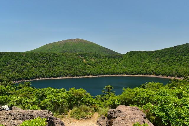大浪池休憩所からの韓国岳