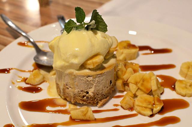 Gofio dessert, Garachico, Tenerife